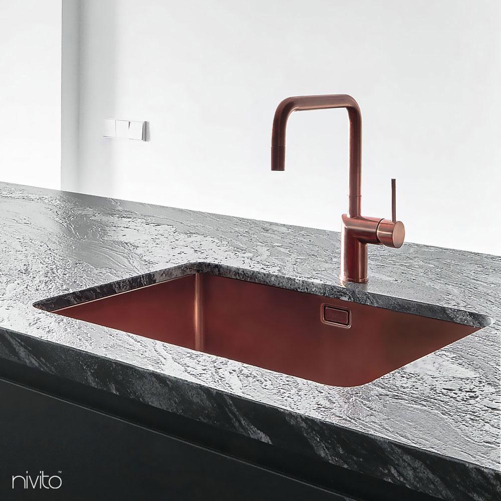 铜 厨房 水槽