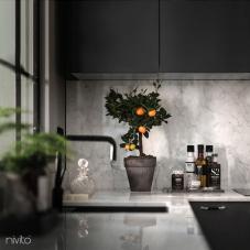 黑色 厨房水龙头 - Nivito 10-RH-320