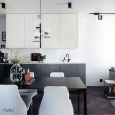 黑色 厨房水龙头 - Nivito 11-RH-320