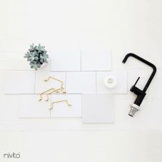 黑色 厨房水龙头 - Nivito 19-RH-320