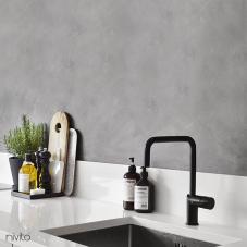 黑色 厨房水龙头 - Nivito 2-RH-320