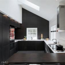 厨房 水 水龙头 黑色