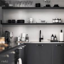 黑色 厨房水龙头 - Nivito 21-RH-320