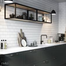 黑色 厨房水龙头 - Nivito 22-RH-320
