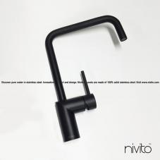 黑色 厨房水龙头 - Nivito 23-RH-320