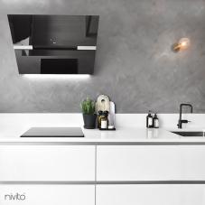 黑色 厨房水龙头 - Nivito 3-RH-320