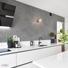 黑色 厨房水龙头 - Nivito 4-RH-320