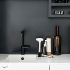 黑色 厨房水龙头 - Nivito 7-RH-320