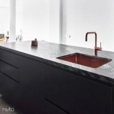 厨房水槽 铜