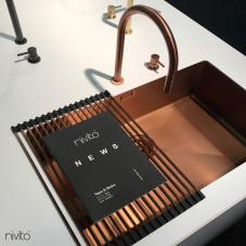 铜 厨房水槽 - Nivito 1-CU-700-BC