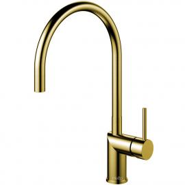 黄金/黄铜 厨房水龙头 - Nivito RH-140
