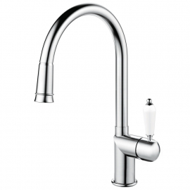 不锈钢 厨房水龙头 可拉出式软管 - Nivito CL-200