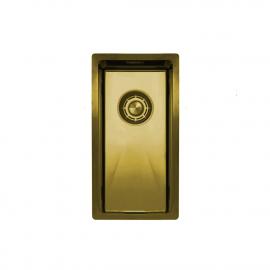 黄金/黄铜 厨房水槽 - Nivito CU-180-BB