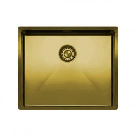 黄金/黄铜 厨房水槽 - Nivito CU-500-BB