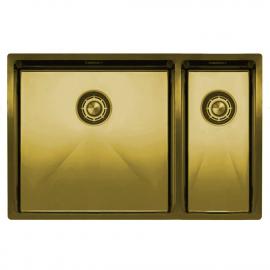 黄金/黄铜 厨房水槽 - Nivito CU-500-180-BB