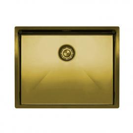 黄金/黄铜 厨房水槽 - Nivito CU-550-BB