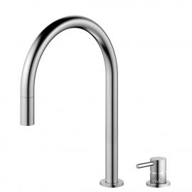 不锈钢 厨房龙头 可拉出式软管 / 可分离式主体/管道 - Nivito RH-100-VI