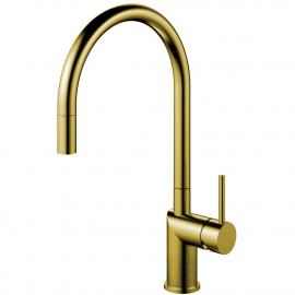 黄金/黄铜 厨房水龙头 可拉出式软管 - Nivito RH-140-EX